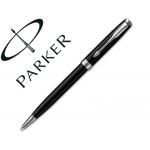 Bolígrafo Parker sonnet laca negra ct