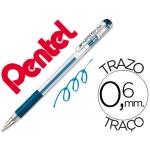 Bolígrafo Pentel hybrid gel color azul