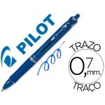 Bolígrafo Pilot acroball color azul tinta aceite punta de bola de 1,0 mm retractil