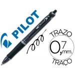 Bolígrafo Pilot acroball color negro tinta aceite punta de bola de 1,0 mm retractil
