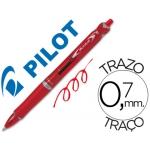 Bolígrafo Pilot acroball color rojo tinta aceite punta de bola de 1,0 mm retractil