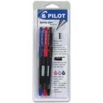 Bolígrafo Pilot bps-gp color azul sujeción de caucho tinta basede aceite con capuchón blister de 3 surtidos