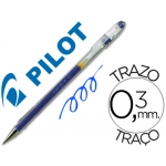 Bolígrafo Pilot color azul tinta gel