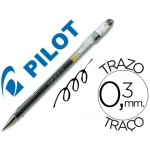 Bolígrafo Pilot color negro tinta gel