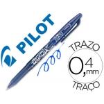 Bolígrafo borrable Pilot Frixion color azul