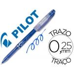 Bolígrafo borrable Pilot Frixion punta de aguja color azul
