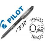 Bolígrafo borrable Pilot Frixion punta de aguja color negro