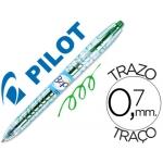 Bolígrafo Pilot gel b2p color verde