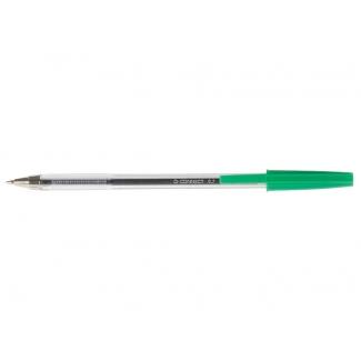 Bolígrafo Q-connect color verde