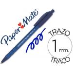 Bolígrafo comfort-mate retractil color azul