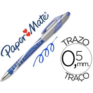 Bolígrafo flexgrip elite retractil color azul