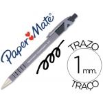 Bolígrafo flexgrip retractil color negro