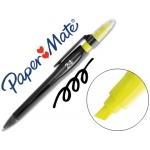 Bolígrafo highlighter color negro paper mate 2 en 1 bolígrafo y rotulador retractil