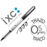 Boligrafo roller inoxcrom free ink office campus negro 0,5mm