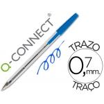 Bolígrafo Q-connect color azul