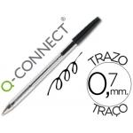 Bolígrafo Q-connect color negro