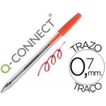 Bolígrafo Q-connect color rojo