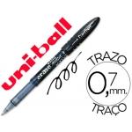 Bolígrafo uni-ball fanthom borrable 0,7 mm tinta gel color negro
