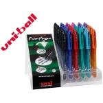 Bolígrafo uni-ball fhantom borrable 0,7 mm tinta gel colores surtidos