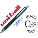 Bolígrafo uni-ball jetstram retractil color azul