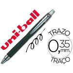 Bolígrafo uni-ball jetstram retractil color negro