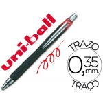 Bolígrafo uni-ball jetstram retractil color rojo