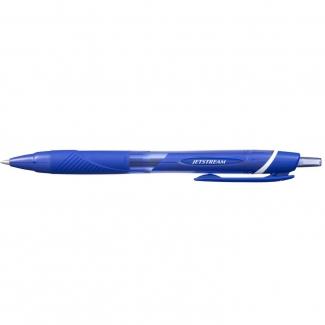 Uni-Ball JetStream SXN-157C - Bolígrafo de tinta de gel, punta redonda de 0,7 mm, retráctil, color azul