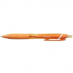 Uni-Ball JetStream SXN-157C - Bolígrafo de tinta de gel, punta redonda de 0,7 mm, retráctil, color naranja