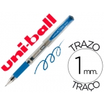 Bolígrafo uni-ball signo broad color azul 1 mm tinta gel
