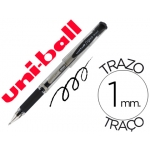 Bolígrafo uni-ball signo broad color negro 1 mm tinta gel