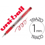 Bolígrafo uni-ball signo broad color rojo 1 mm tinta gel