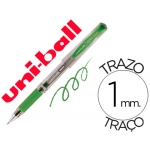 Bolígrafo uni-ball signo broad color verde 1 mm tinta gel