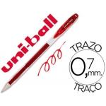 Bolígrafo uni-ball signo color rojo 0,7 mm tinta gel