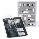 Bolsa de plastificar 3L Office manual en frio 10x15 cm 300 micras con iman y base sobremesa pack de 3 unidades