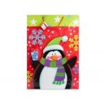 Bolsa de regalo con motivos navideño 51x71x18 cm