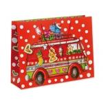 Bolsa de regalo con motivos navideños 61x46x18 cm