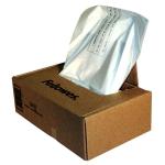 Bolsa de residuos Fellowes para destructora de documentos 148 litros caja con 100 bolsas