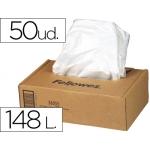 Bolsa de residuos Fellowes para destructora de documentoscaja con 50 und para ps380 380ccaja de 4 unidades20/420ccaja de 4 unidades80cc