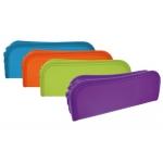 Bolso Beautone escolar portatodo colores surtidos traslucidos frosty