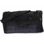Bolso escolar portalapices color negro liso con cremalleraen los laterales