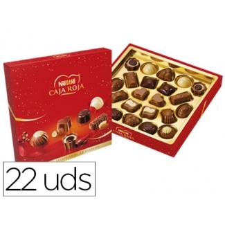 Bombon Nestle caja color roja 200 gr/m2