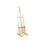 Caballete pintor Artist estudio madera 62x61x182 cm