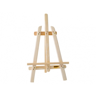 Caballete pintor madera sobremesa 40 cm