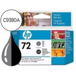 Cabezal HP 72 gris y negro foto referencia C9380A