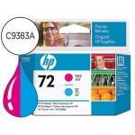 Cabezal HP 72 magenta y cian referencia C9383A