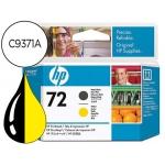 Cabezal HP 72 negro mate y amarillo referencia C9384A