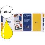 Cabezal HP 80 amarillo referencia C4823A