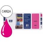 Cabezal HP 81 magenta con limpiador referencia C4952A DesignJet series 5000, 5500