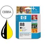 Cabezal HP 88 negro y amarillo referencia C9381A