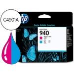 Cabezal HP 940 cian y magenta referencia C4901A